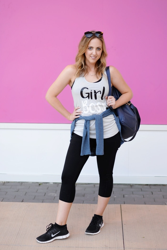 #GirlBoss tank from Tulip and Vine