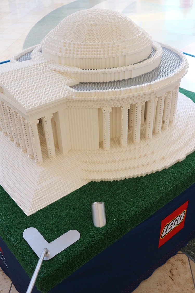 LEGO Americana Roadshow Jefferson Memorial