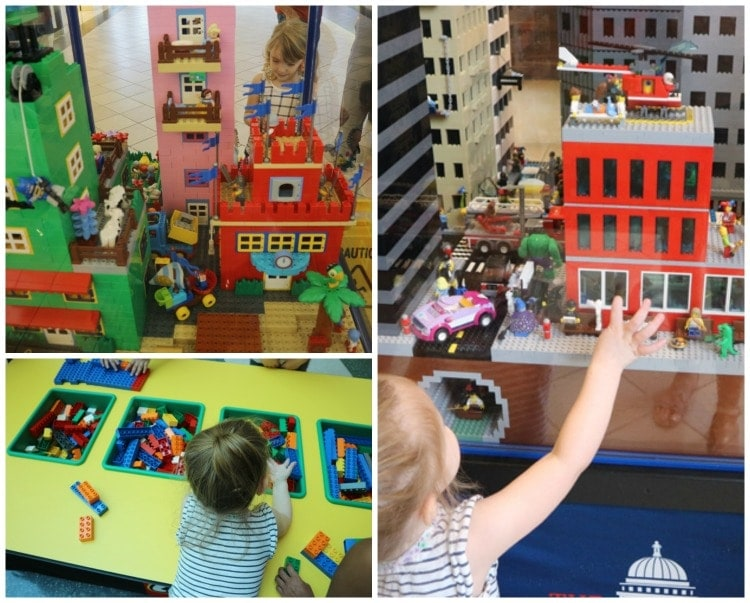 LEGO Americana Roadshow at Baybrook Mall