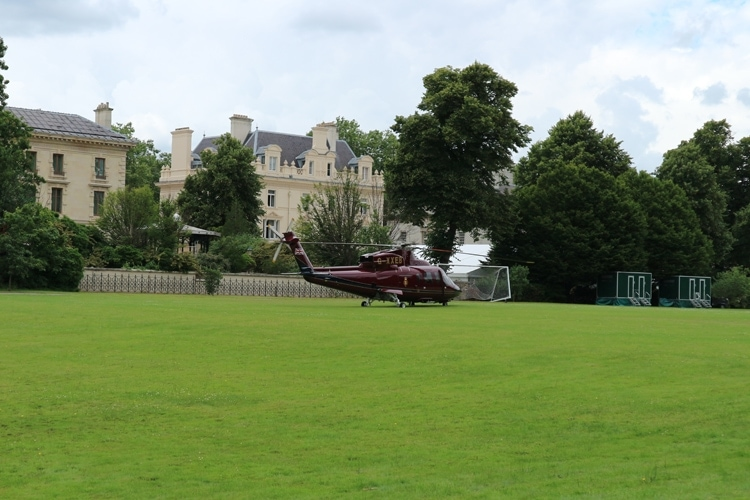 Royal helicopter