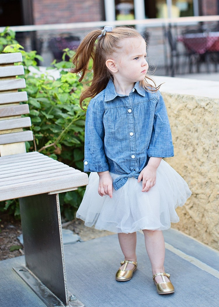 fall neutral toddler outfit