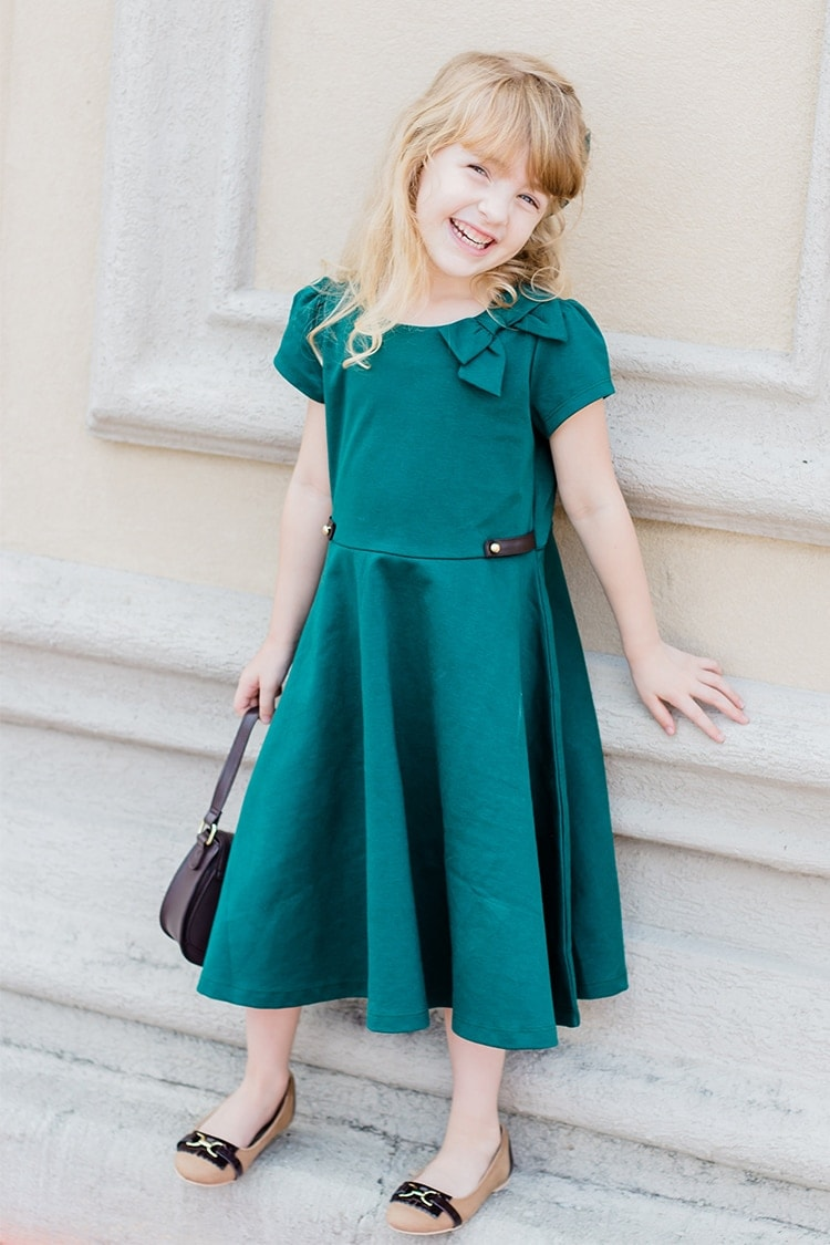 Janie & Jack dress for fall. Love the equestrian look!