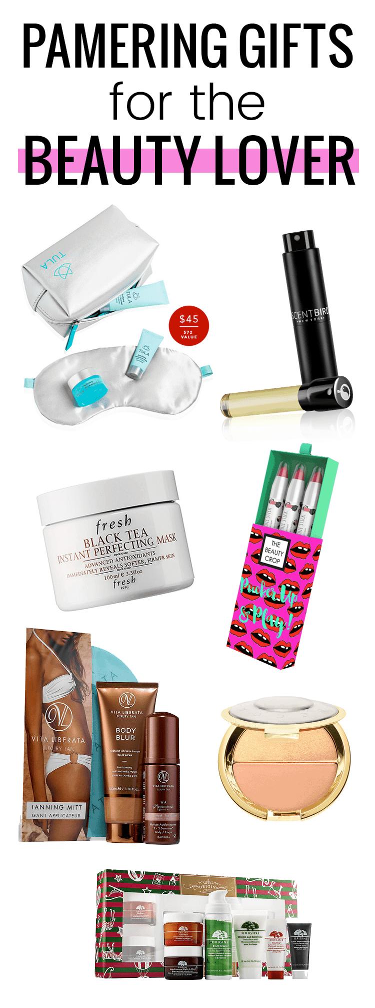 Beauty gift ideas any beauty lover will love!