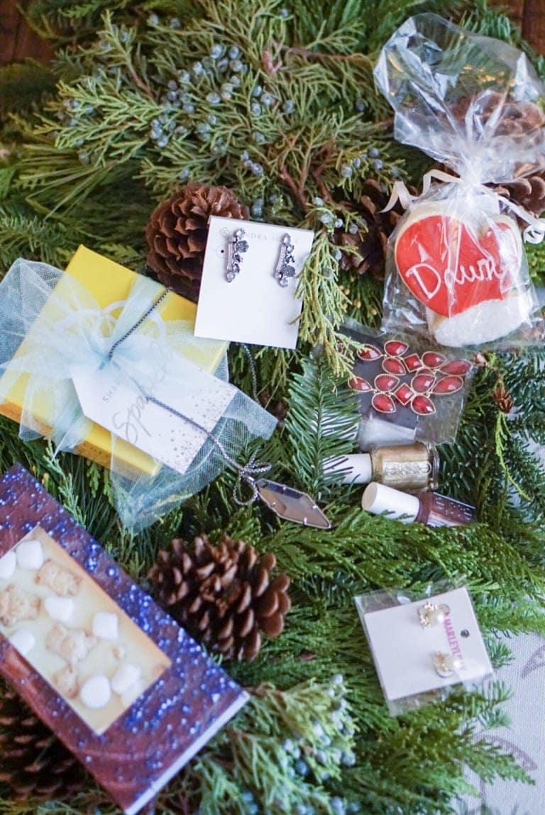 Blogger brunch gift bag