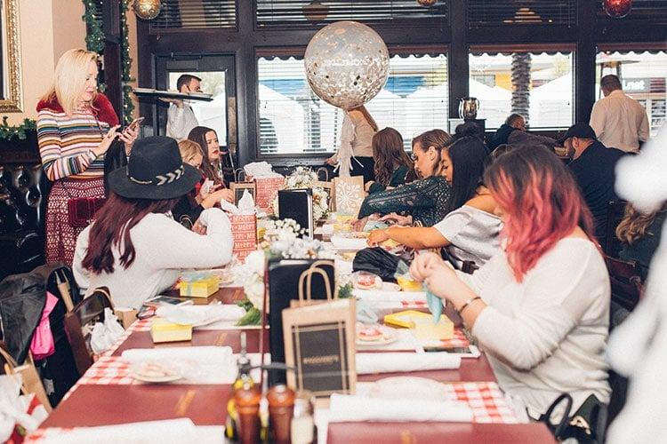 Blogger brunch at Maggiano's Baybrook