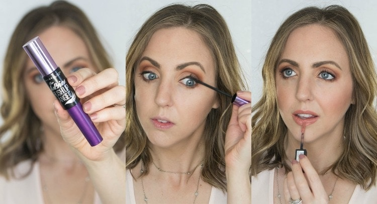 I love the Maybelline Push Up Angel mascara and the matte liquid lipstick!