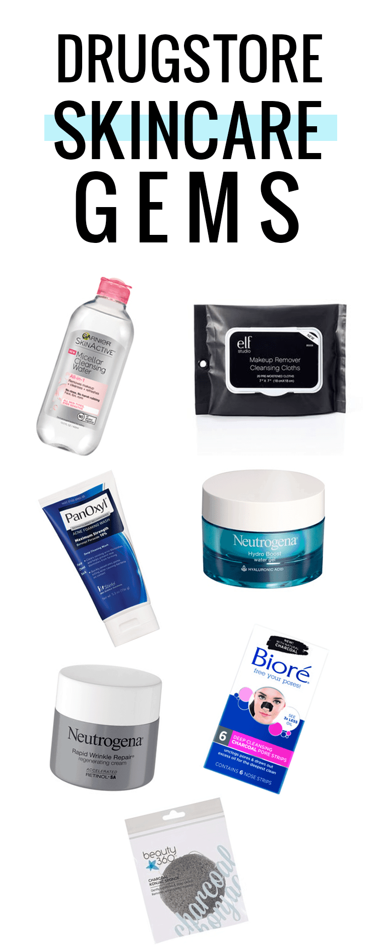 Some of the best drugstore skincare products!