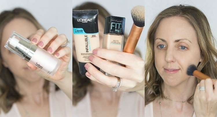 Popular Houston Beauty Blogger Meg O on the Go shares a full Get Ready with Me video and post using only the best drugstore makeup.