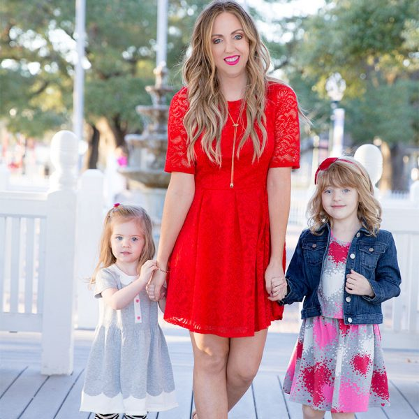 Mama + Mini Style: Be My Valentine