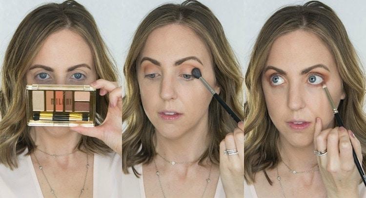Milani drugstore eyeshadow palette - it is amazing!
