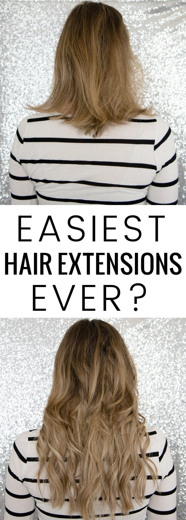 My full review and demo of the Hidden Crown Hair Extensions... are they the easiest hair extensions ever?