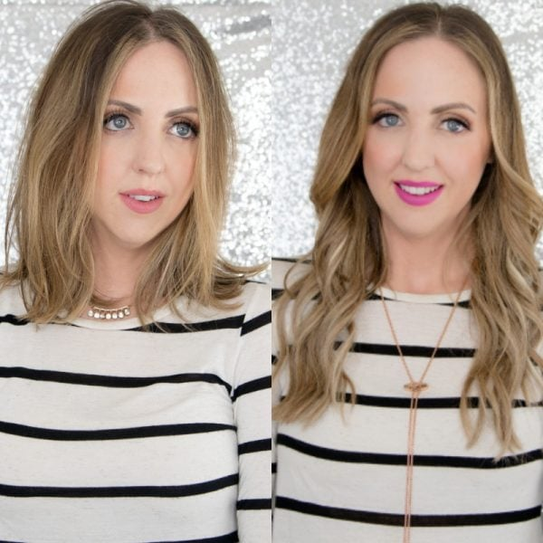 Easiest Hair Extensions EVER?! Hidden Crown Hair Review + Demo
