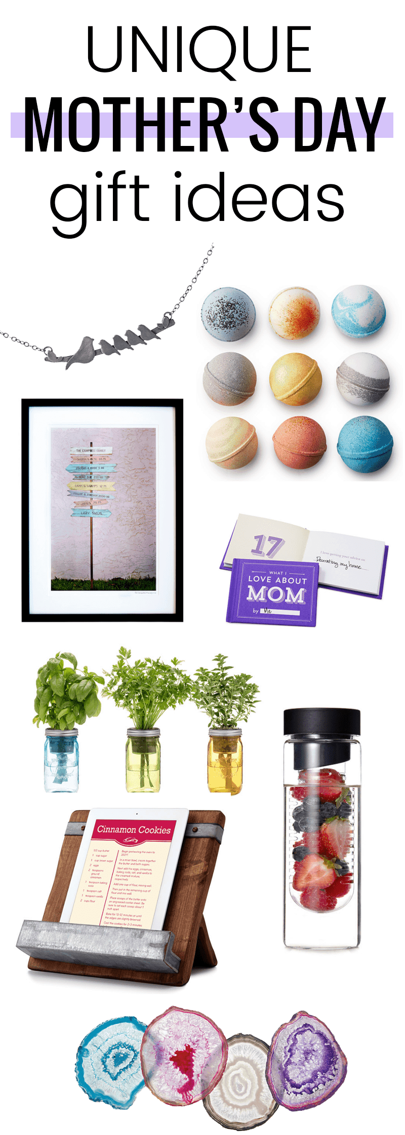 Love these unique Mother's Day gift ideas from @uncommongoods!
