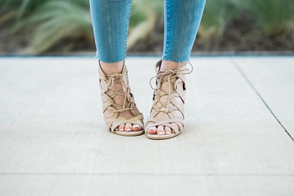 spring fashion trend - raw hem jeans