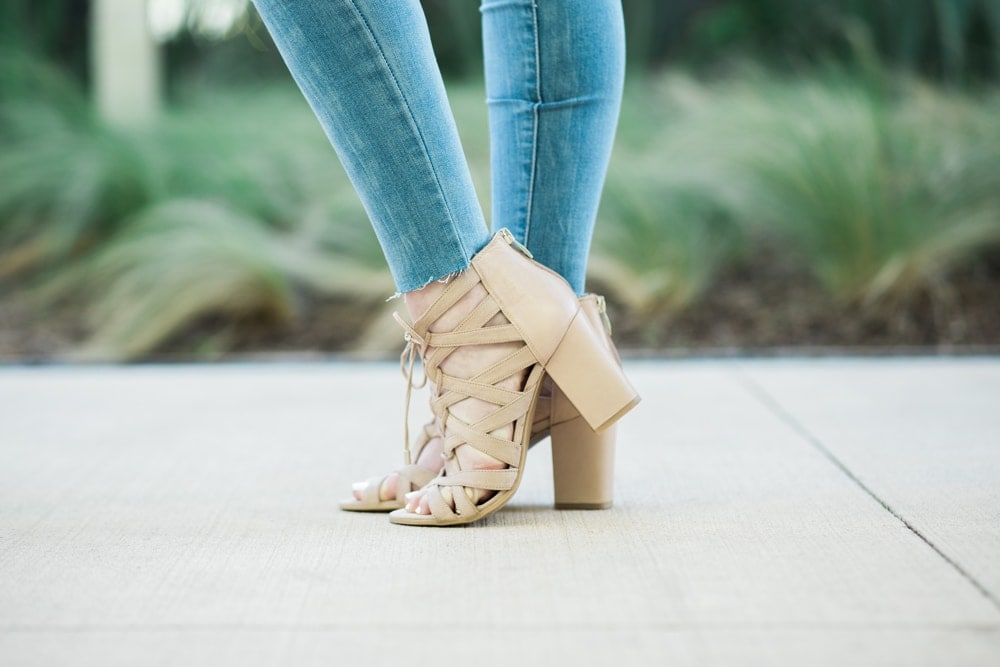 spring fashion trend - block heels