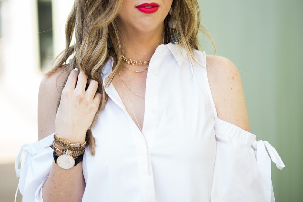 spring fashion trend - layered necklaces