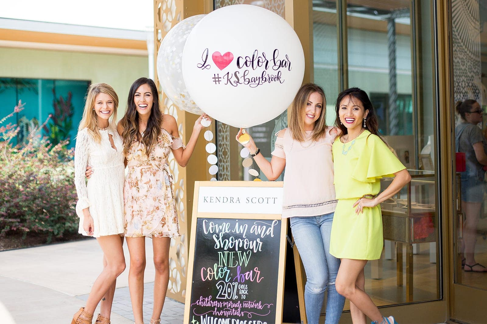 Kendra Scott blogger party