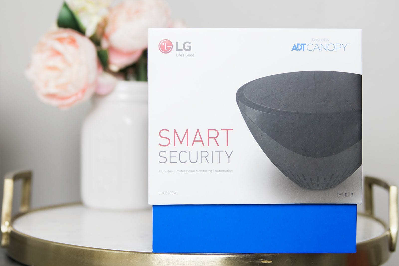 LG Smart Security really gives peace of mind when you're away from home