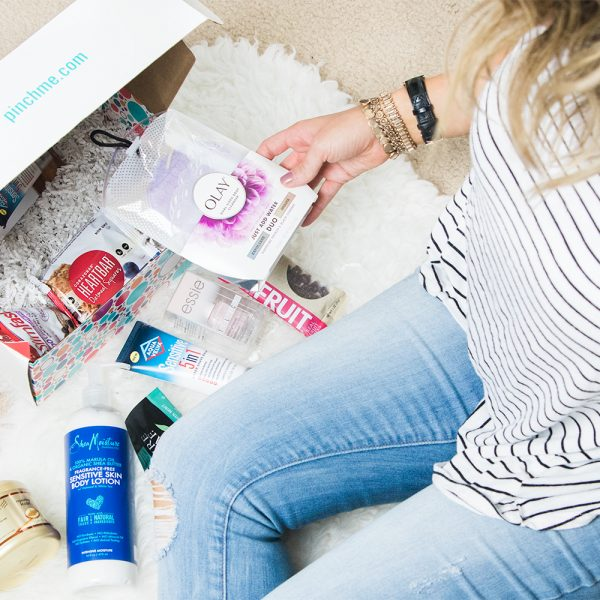 The Coolest Free Sample Box – PINCHme