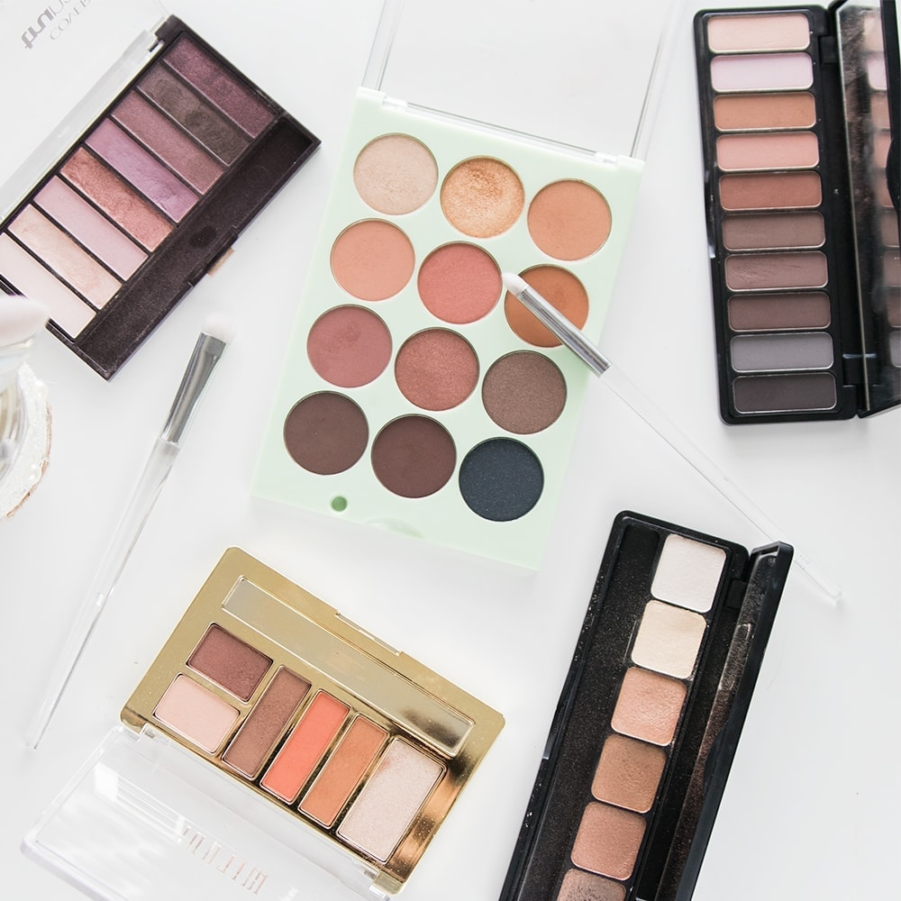 5 Amazing Drugstore Eyeshadow Palettes | Meg O. on the Go