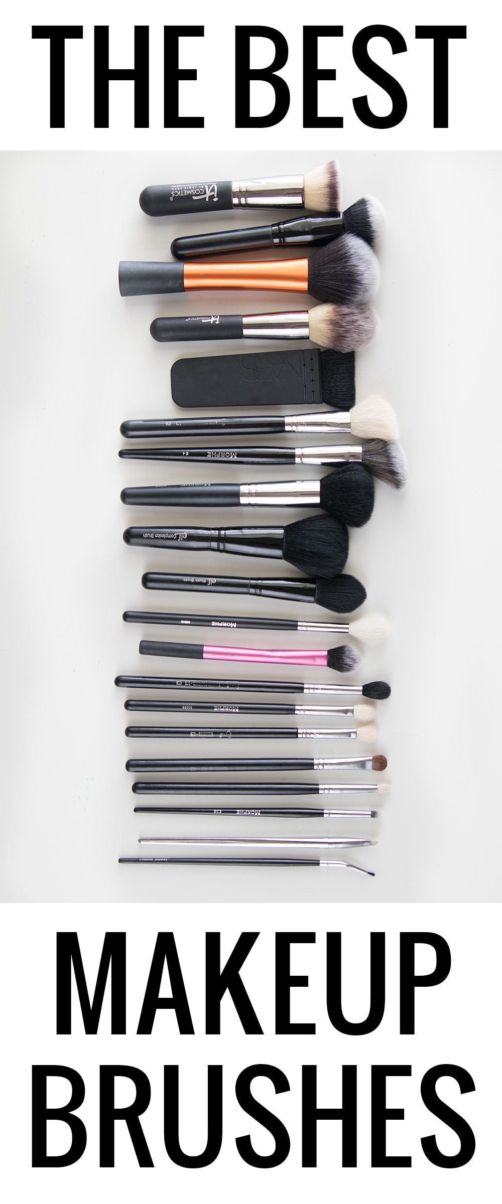 The Best Makeup Brushes Every Girl Needs in Her Collection by Houston beauty blogger Meg O. on the Go