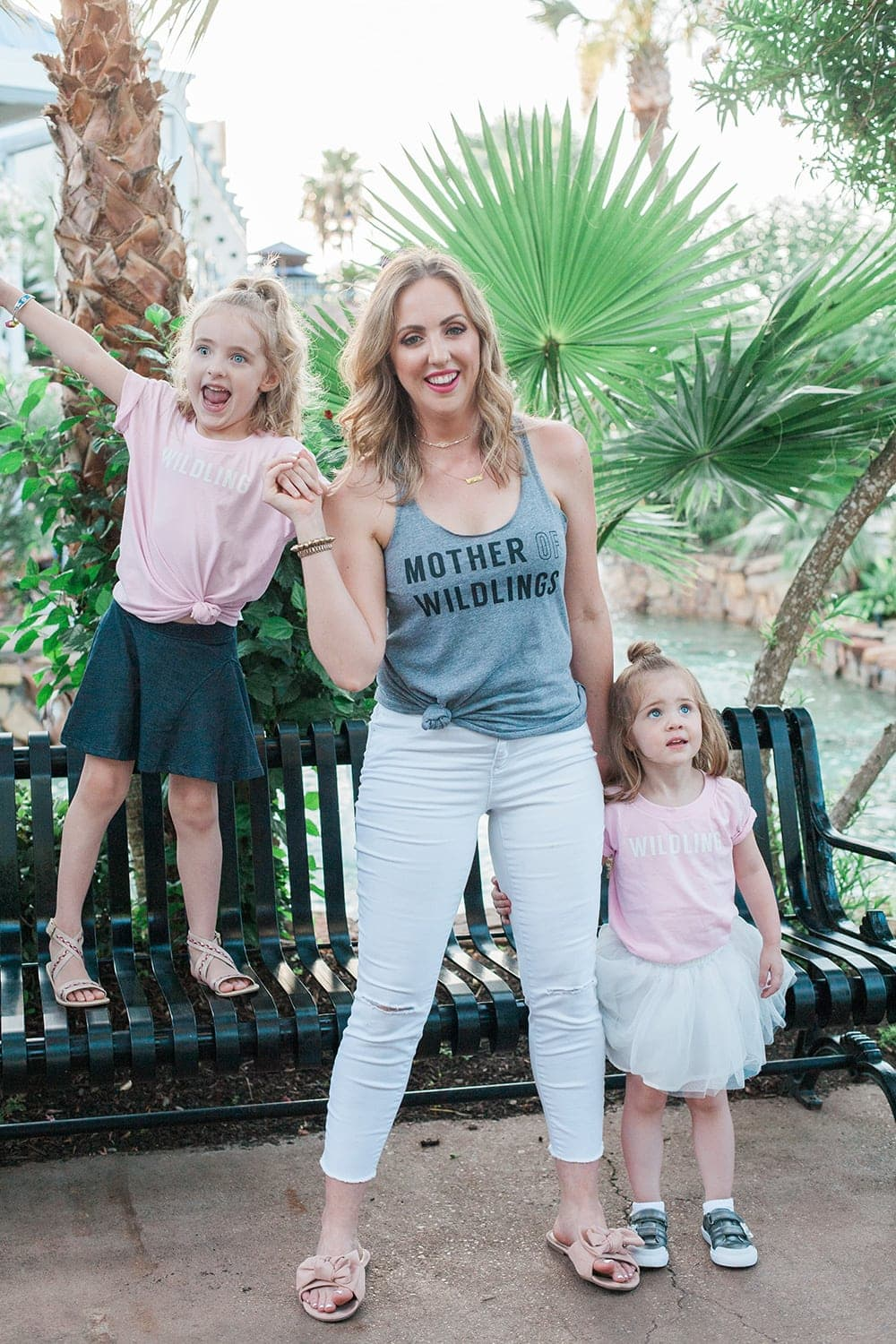 Good Bye Summer by Houston mom blogger Meg O. on the Go - Mommy and me cute t-shirts