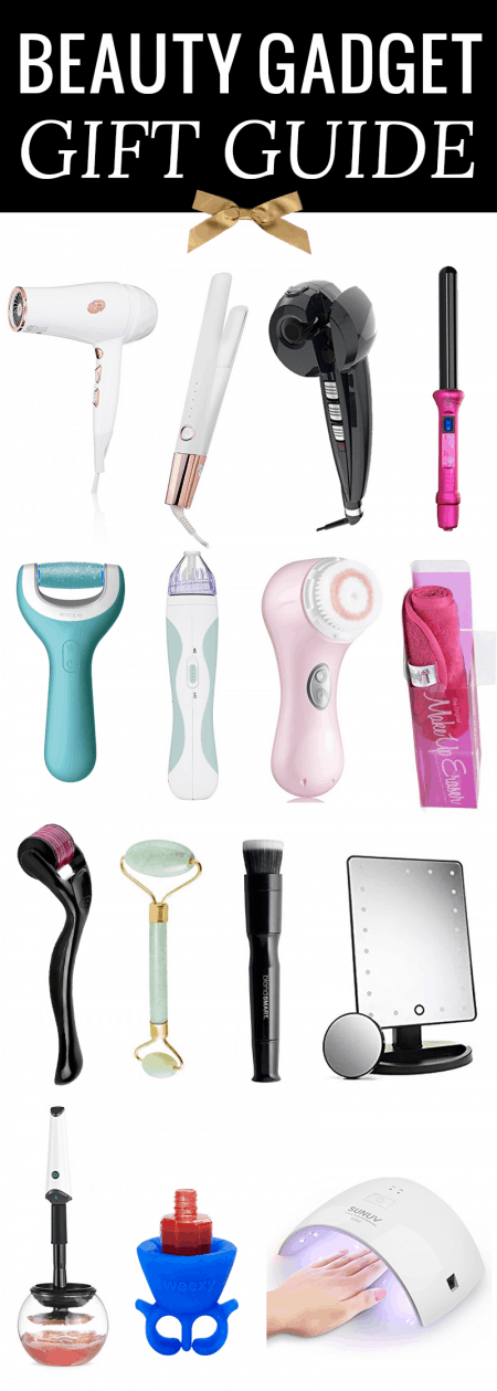 the coolest beauty gadget gift guide! She will love these gift ideas!