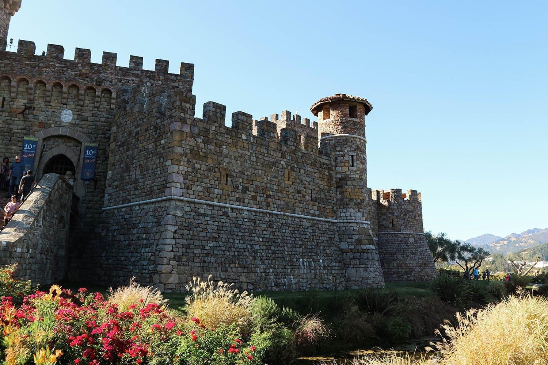 Castello di Amorosa in Calistoga