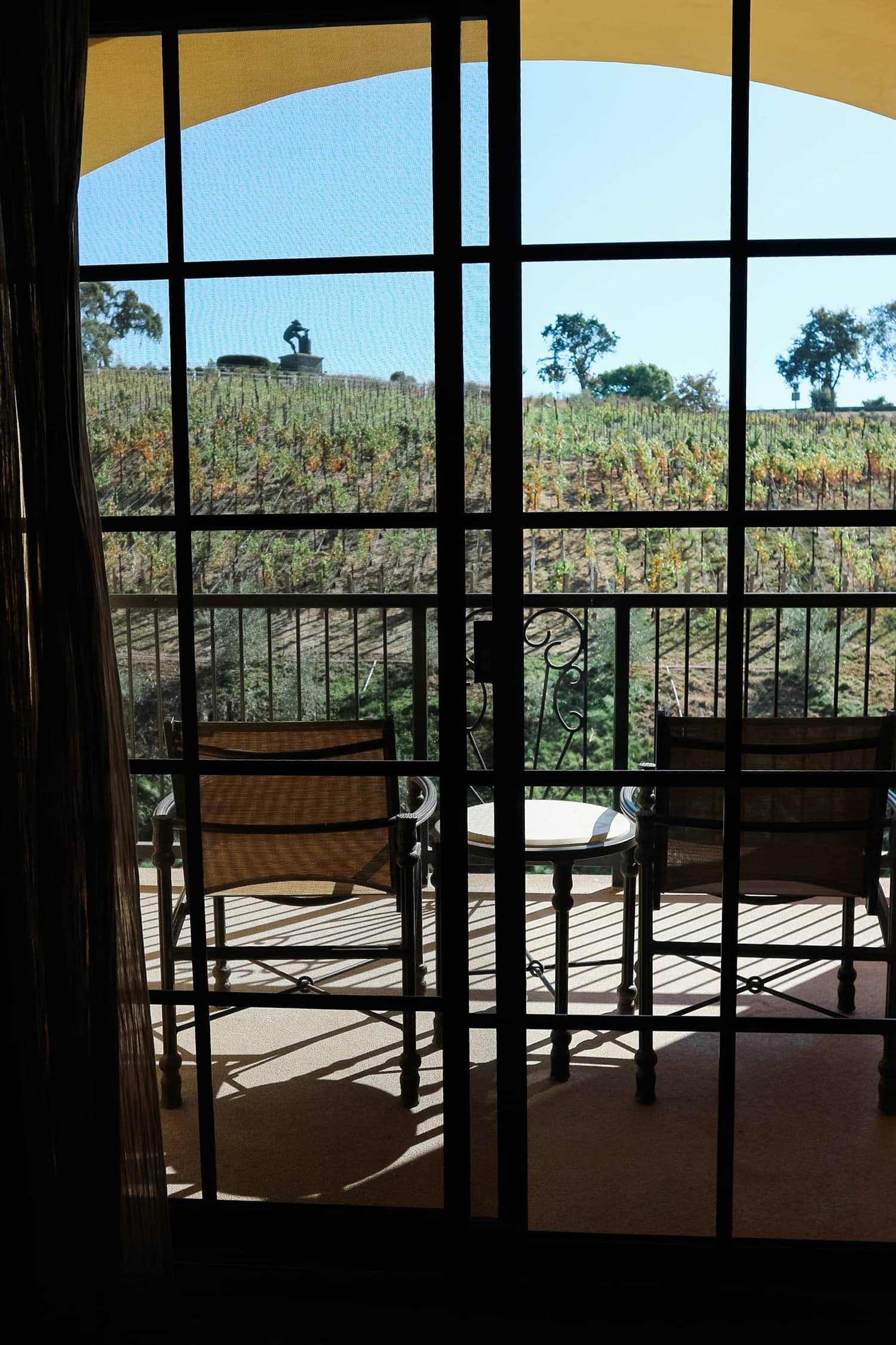 Meritage Resort Napa Valley balcony