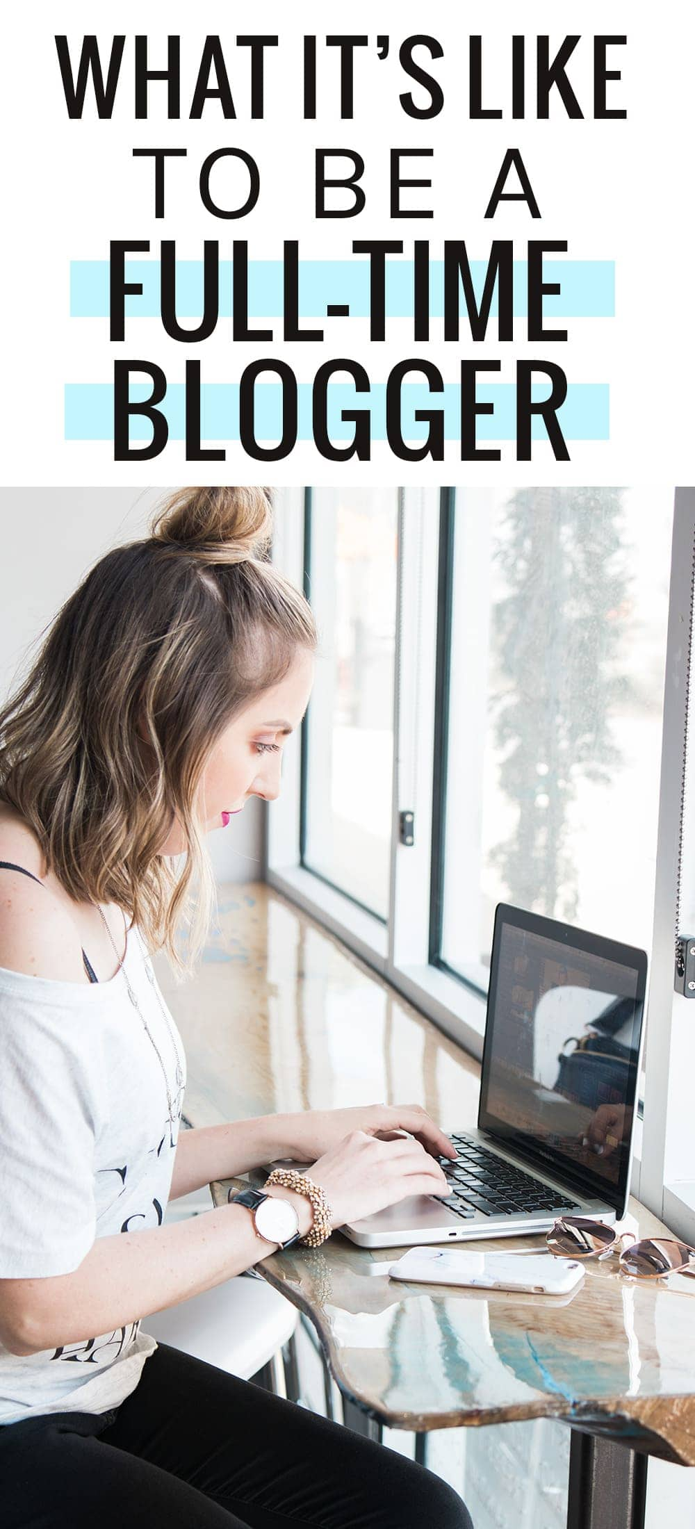 Meg O. just became a full-time blogger, and shares with us what her days are like. What is it like to be a full-time blogger? Click through to read more! #blogtips #blogger #blogging #bloggingtips