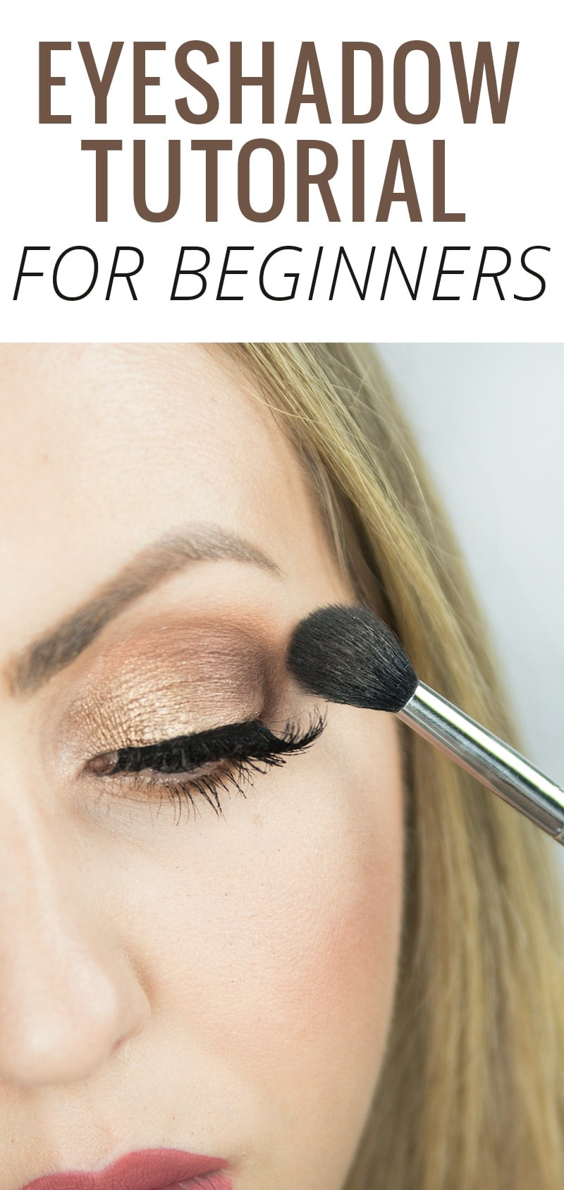 New to eyeshadow? Houston beauty blogger Meg O. on the Go gives us a step by step eyeshadow tutorial for beginners. Read more and master the look! #beauty #makeup #makeuptutorial #eyeshadow #eyeshadowtutorial #beautyblogger #beautyblog