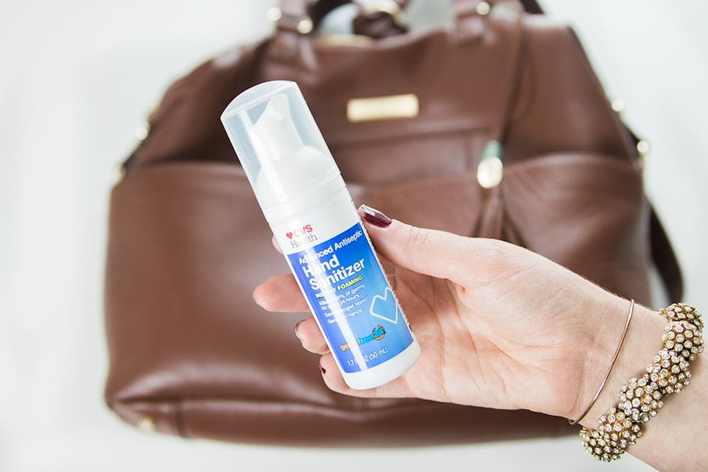 foaming hand sanitizer from CVS