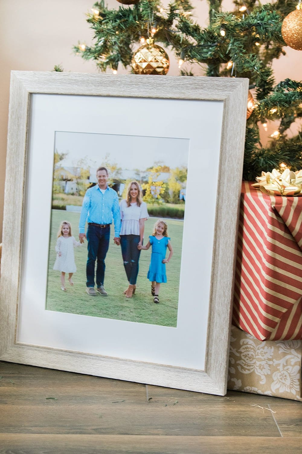 Framed photo art from Shutterfly