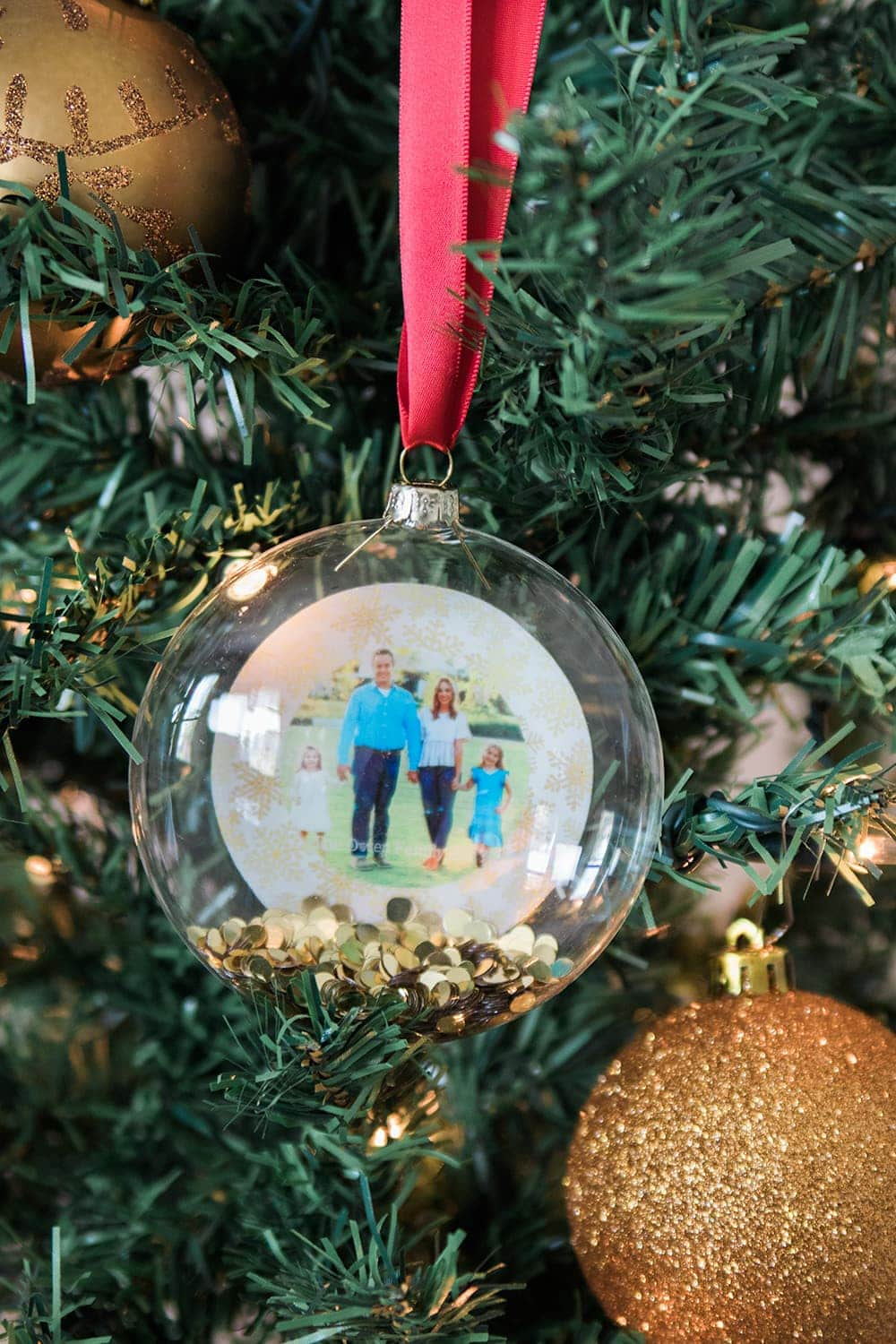 Personalized Ornament from Shutterfly