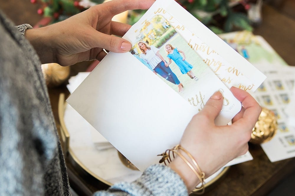 Shutterfly envelope liners - add a luxurious touch