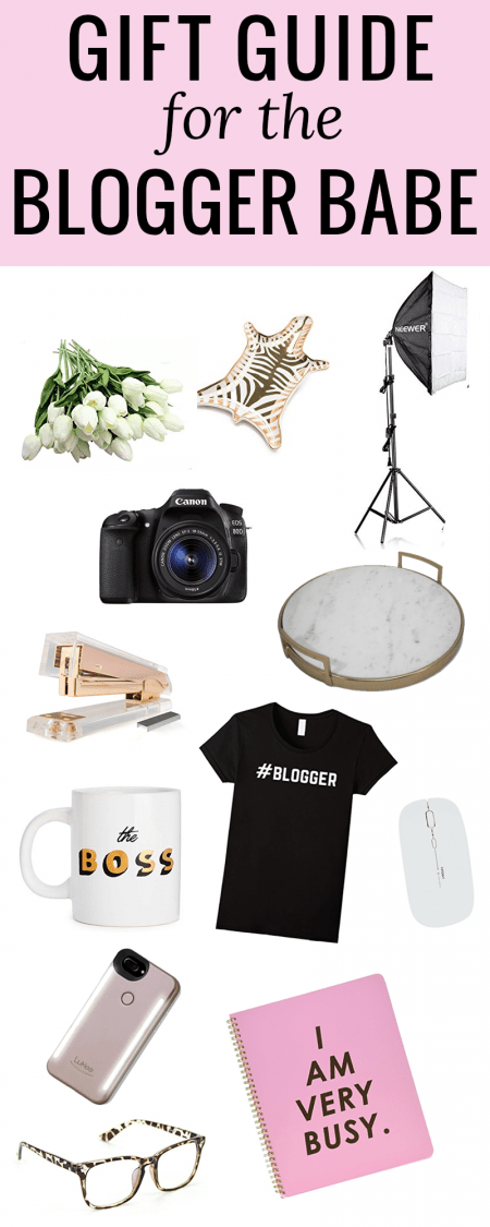 gift guide for blogger #giftguide #blogger #bloggergifts #bloggergear