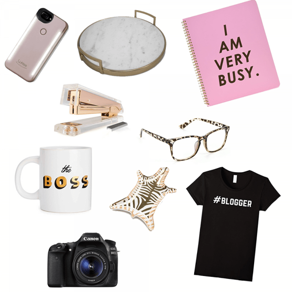 Gift Guide for the Blogger Babe