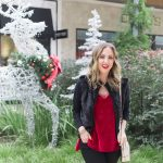 Holiday Outfit Idea – Red Velvet