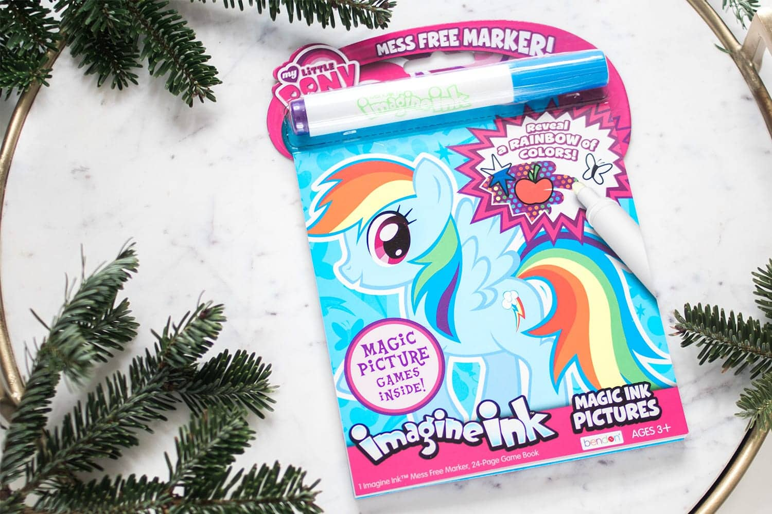 Imagine Ink Coloring Book - stocking stuffer idea for kids