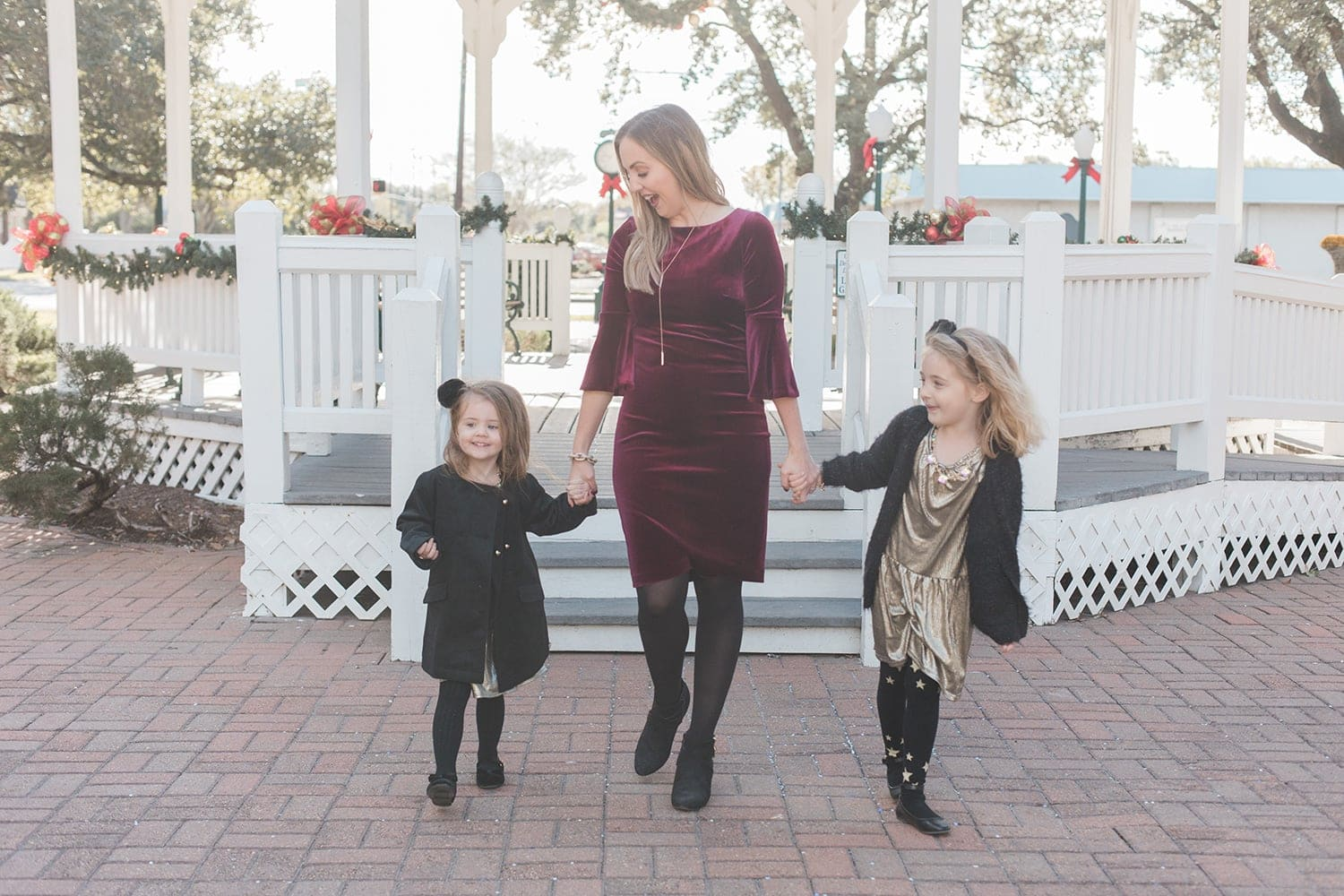 Mommy daughter Christmas dresses