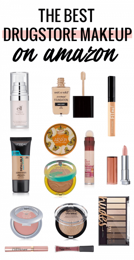 Houston Blogger Meg O. shares the best drugstore makeup on Amazon - did you know that it's cheaper than most drugstores?