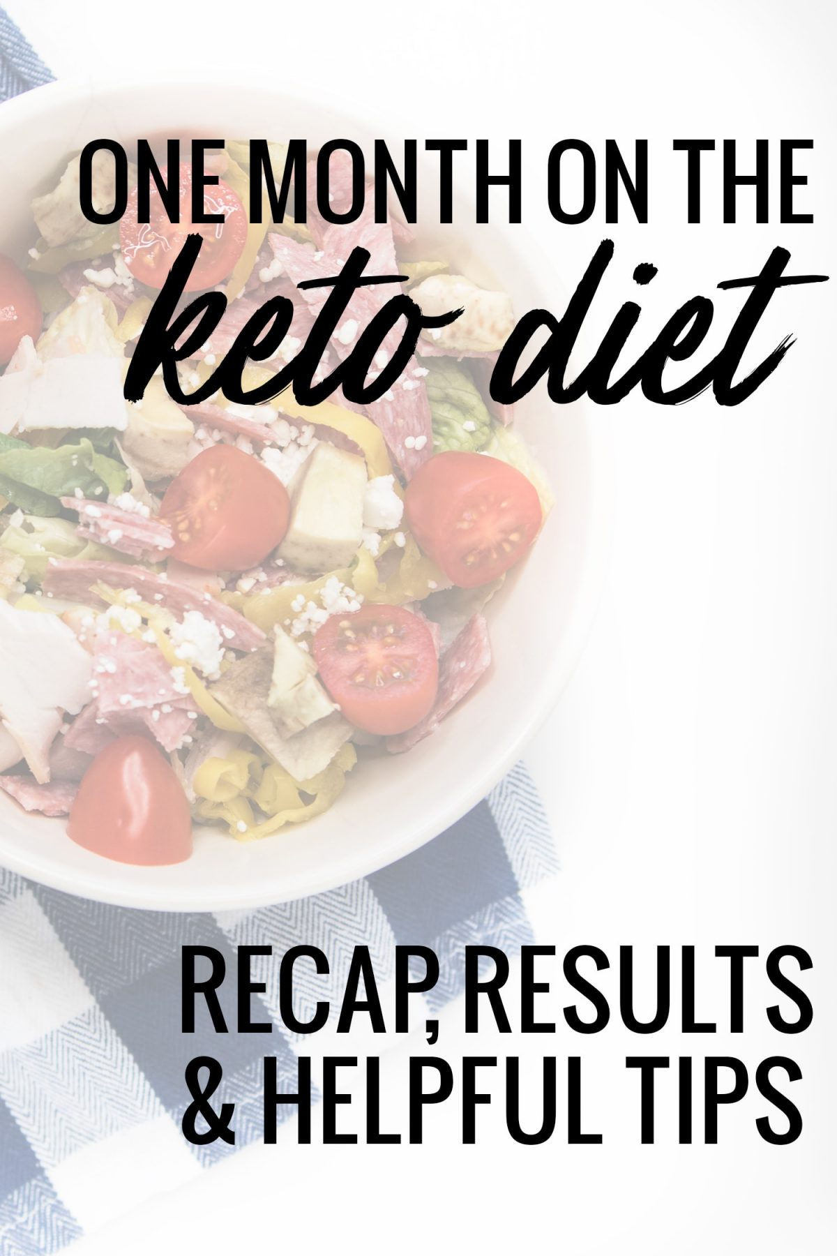 Houston blogger Meg O. on the Go shares a recap of her month on the keto diet.