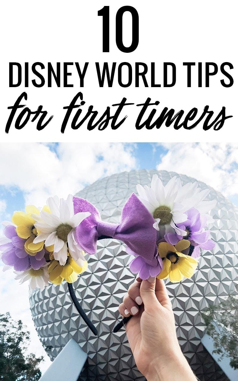 Houston blogger Meg O. on the Go shares 10 Disney World tips for first timers