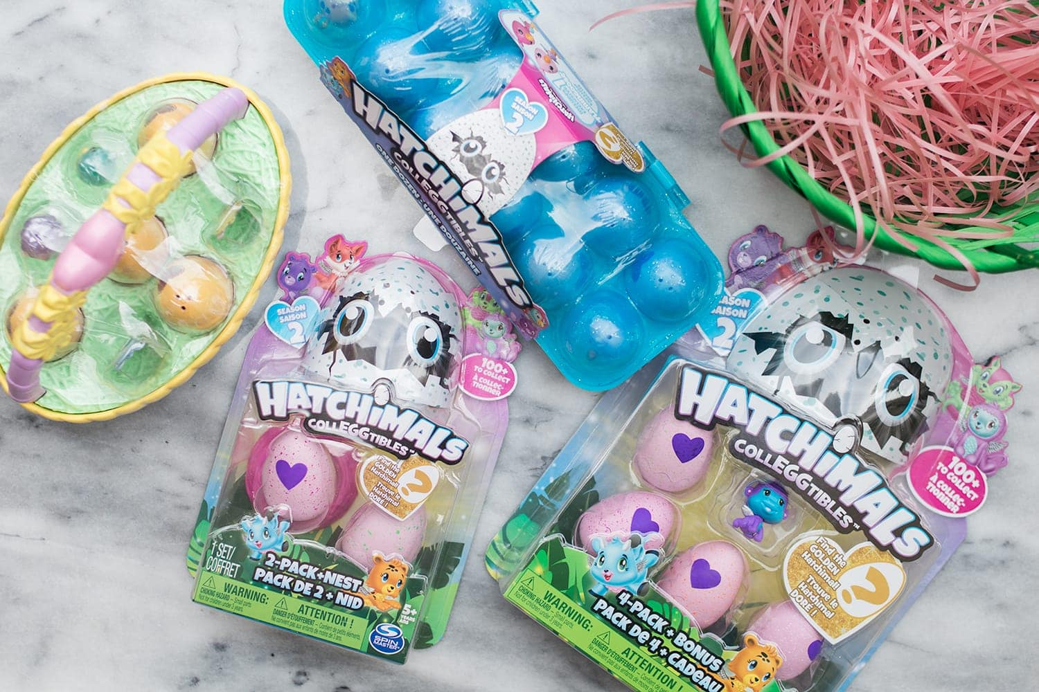 Hatchimals are perfect Easter gifts or to use in an Easter egg hunt!