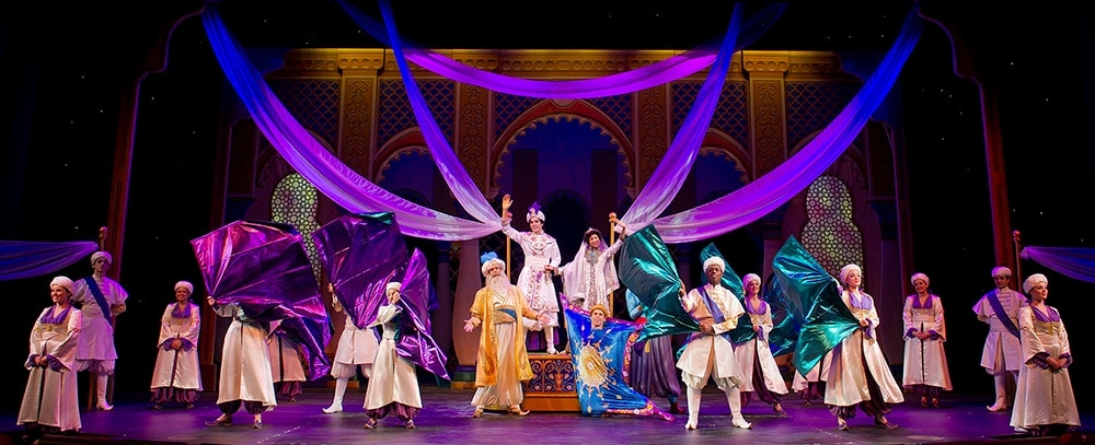 Aladdin aboard the Disney Fantasy cruise ship