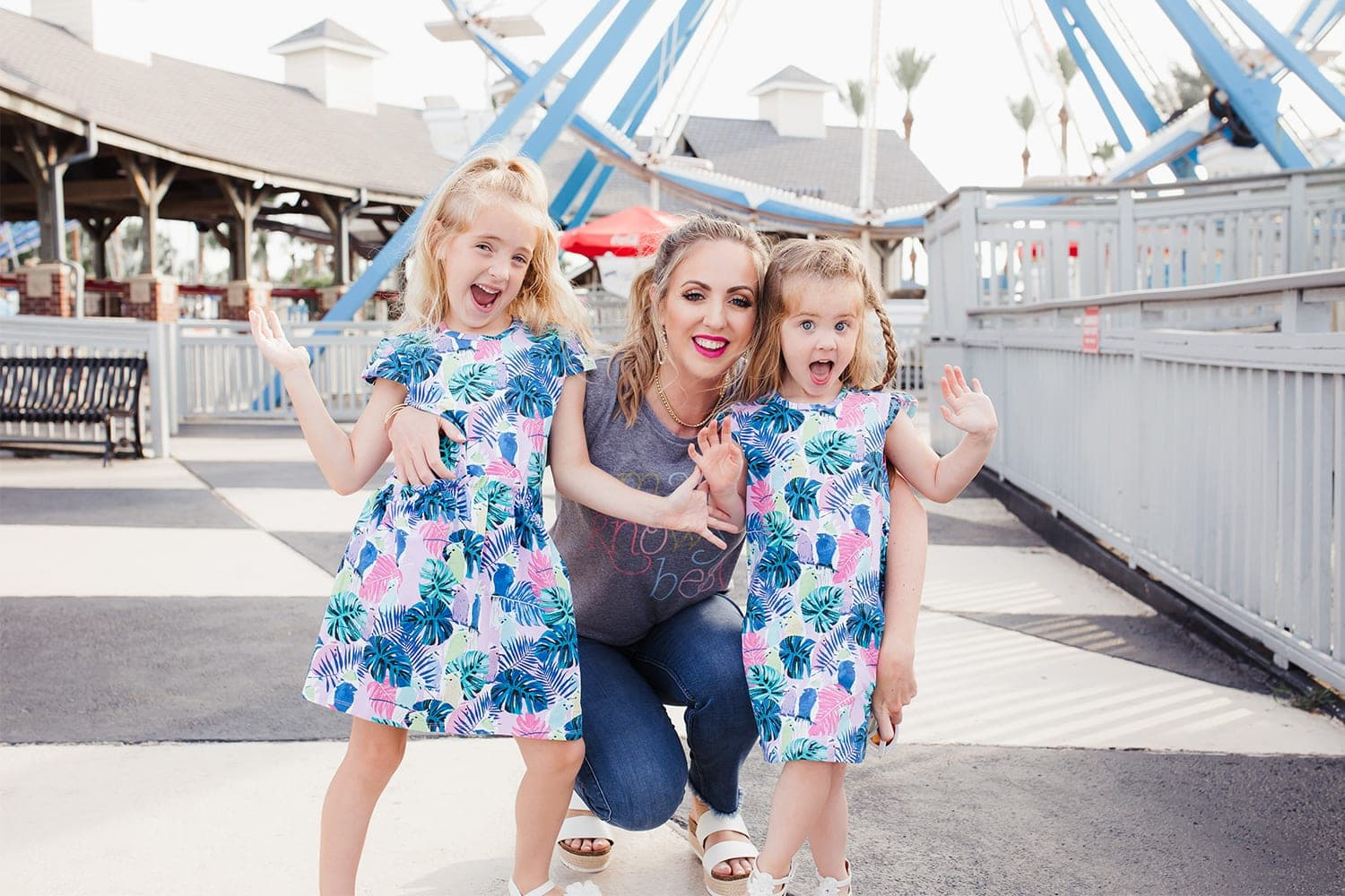 Houston mommy blogger Meg O. on the Go shares some cute mommy and daughter summer outfits