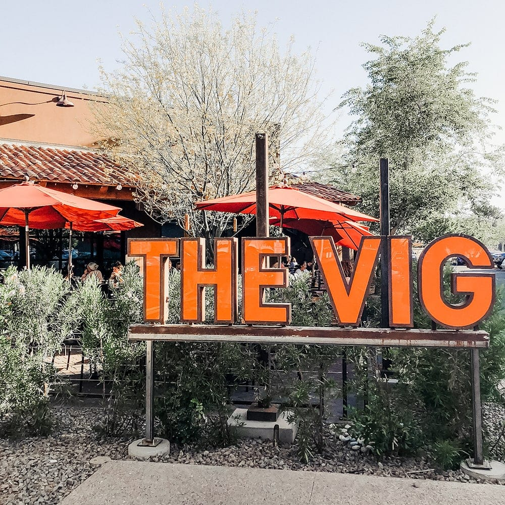 The Vig McCormick Ranch in Scottsdale, Arizona - from travel guide written by Meg O. on the Go
