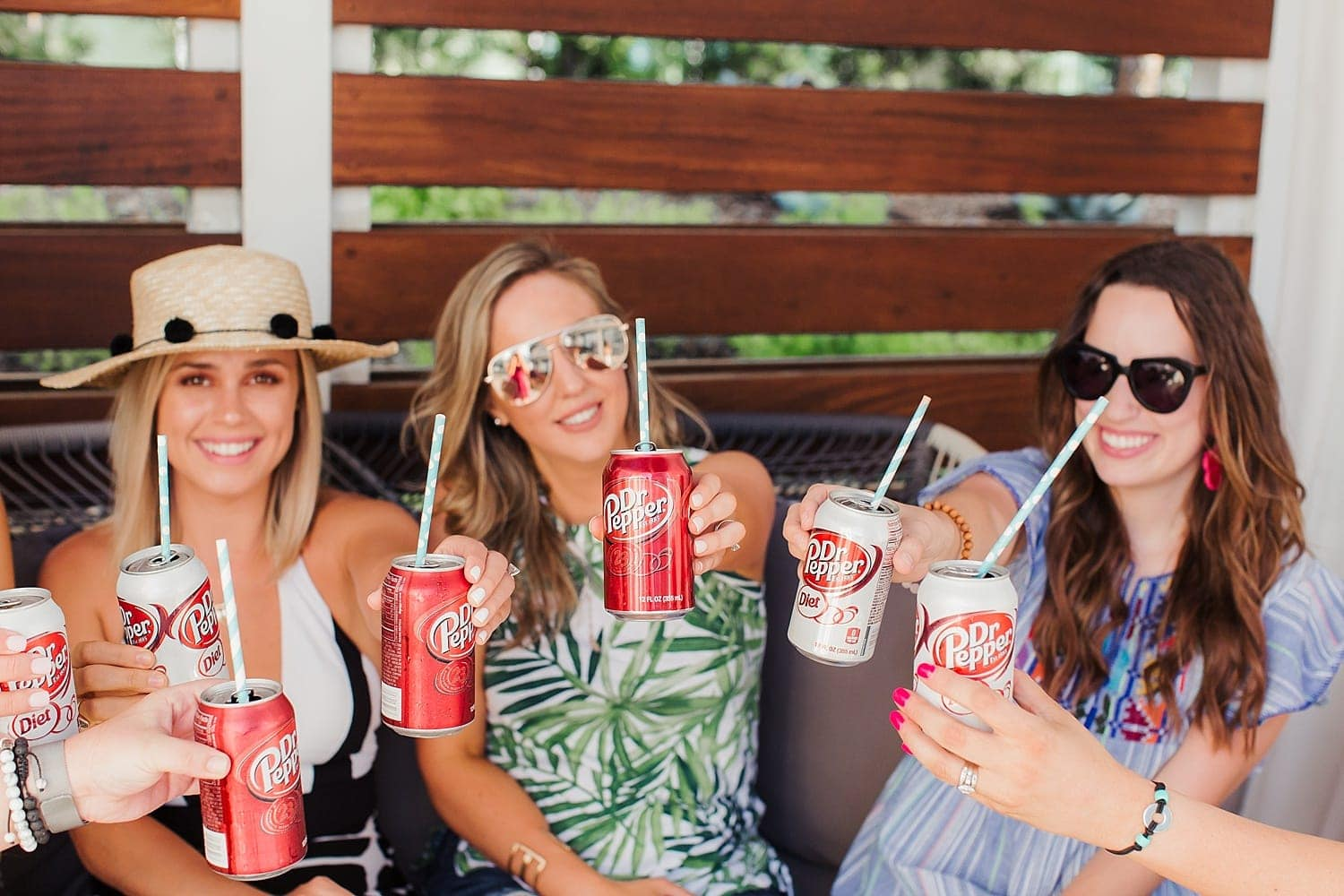 Dr. Pepper makes any pool party better!