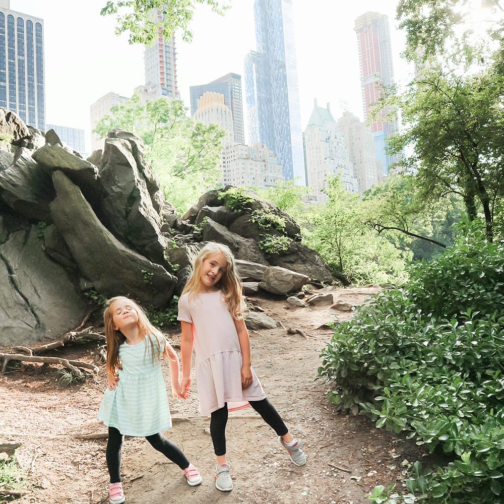 Central Park in NYC with Kids - travel guide by blogger Meg O. on the Go