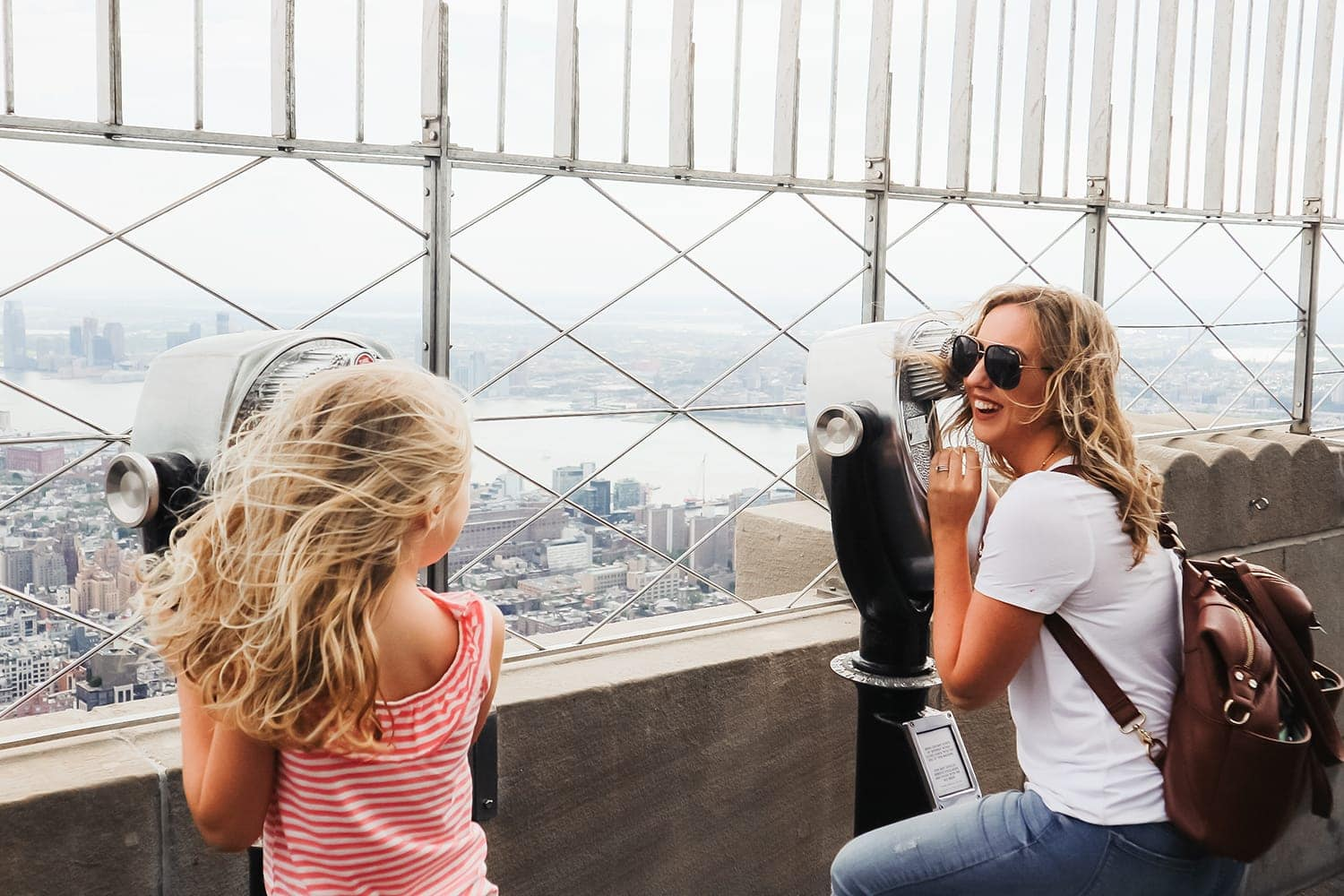 Top things to do in New York City with kids - Empire State Building - travel guide written by Houston blogger Meg O. on the Go